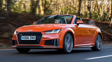 Audi TT Roadster - driving