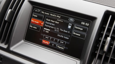 Land Rover Freelander facelift screen