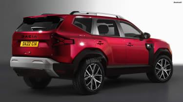 Dacia Bigster - rear (watermarked)