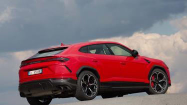 Lamborghini Urus - rear static red