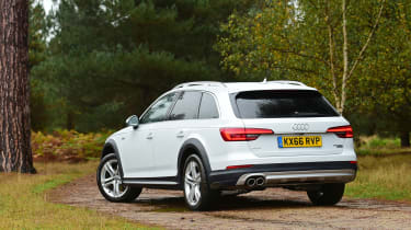 Audi A4 Allroad UK 2016 - rear quarter