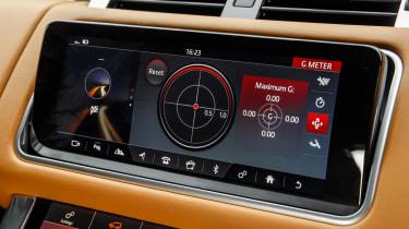 Range Rover Sport SVR - infotainment