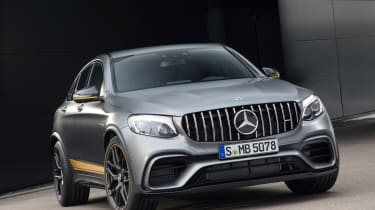 Mercedes-AMG GLC 63 Coupe Edition 1 front