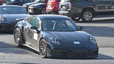 Porsche 911 Turbo S - front tracking - spies