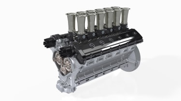 GTO Engineering Squalo - engine