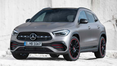 Mercedes GLA - front static