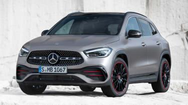 Mercedes GLA - front static