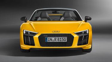 Audi R8 Spyder 2016 official - front