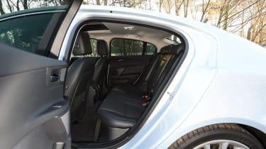 Jaguar XE Portfolio petrol 2016 - rear seats