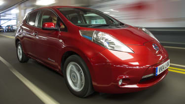 Best cars for under £10,000 - Nissan Leaf