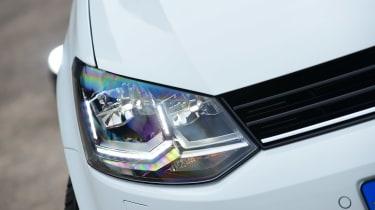 Volkswagen Polo - front light detail