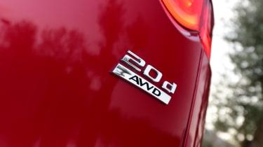 Jaguar F-Pace first drive - badge