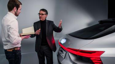 Audi e-tron Sportback concept - rear detail studio