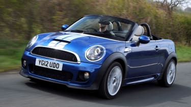 MINI Roadster front tracking