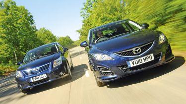 Mazda6 vs. Toyota Avensis
