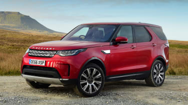 Land Rover Discovery - front static
