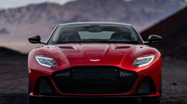 Aston Martin DBS Superleggera - full front static