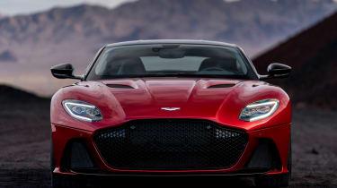 Aston Martin DBS Superleggera - full front static