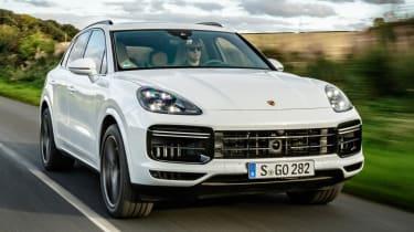Porsche Cayenne - front