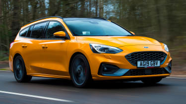 Ford Focus ST Estate: long-term test review - first report - front tracking
