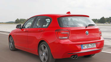 BMW 3-cylinder Prototype rear tracking