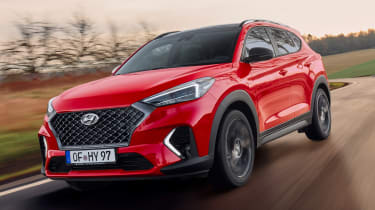 Hyundai Tucson N Line - front tracking