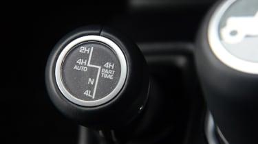 Jeep Wrangler - drive mode