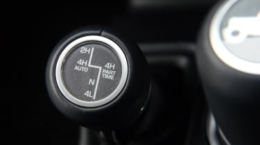 Jeep Wrangler - drive mode