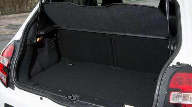 Triple test –Renault Twingo - boot
