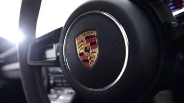 Porsche 911 GT3 - steering wheel