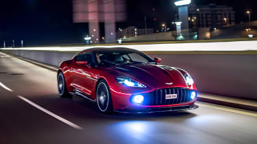 Aston Martin Vanquish Zagato - front