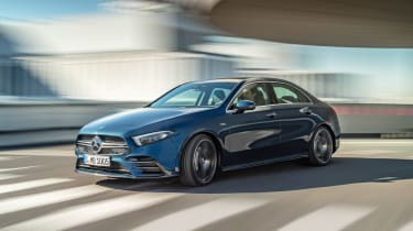 Mercedes-AMG A 35 Saloon - front action