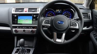 Long-term test review: Subaru Outback interior
