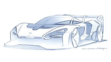 McLaren Senna GTR teaser