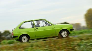 Ford Fiesta Mk1 - side tracking