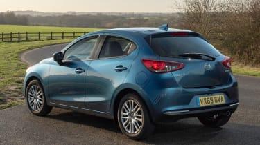 Mazda 2 - rear static