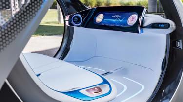 Smart Vision EQ ForFour concept - interior detail
