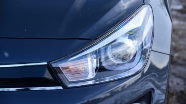 Kia Rio - headlight