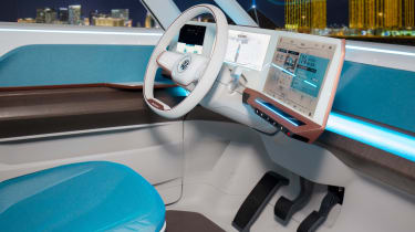 Volkswagen Budd-e first drive 2016 - dashboard