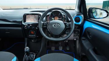 Used Toyota Aygo Mk2 - dash