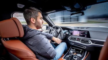 BMW SUVs feature - Rich driving X7