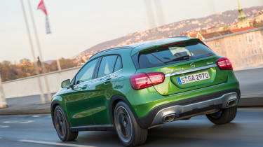 Mercedes GLA 2017 facelift rear