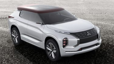 Mitsubishi GT-PHEV Concept front