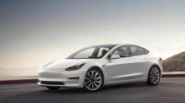 Tesla Model 3 static