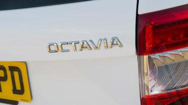 Used Skoda Octavia - rear badge