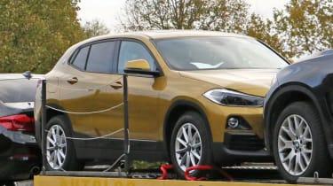 BMW X2 spy shot - front still