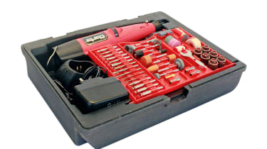 Clarke CCRT266 Cordless Rotary Tool with Accessory Kit