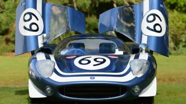 Ecurie Ecosse LM69 - full front doors open