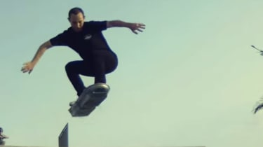 Lexus hoverboard - jump shot 2