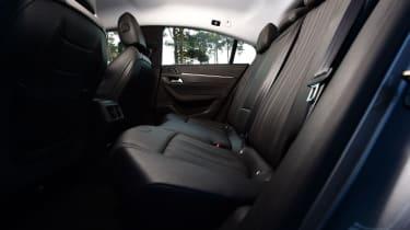 Peugeot 508 Fastback - rear seats